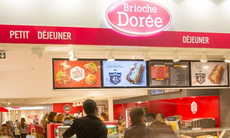 Centre commercial Pau tempo - En cas Gourmandise - Brioche Dorée