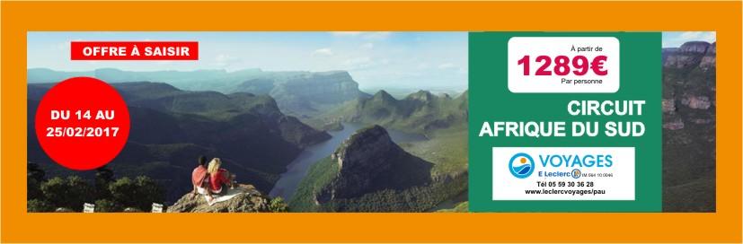 Newsletter AGV - Afrique du sud.