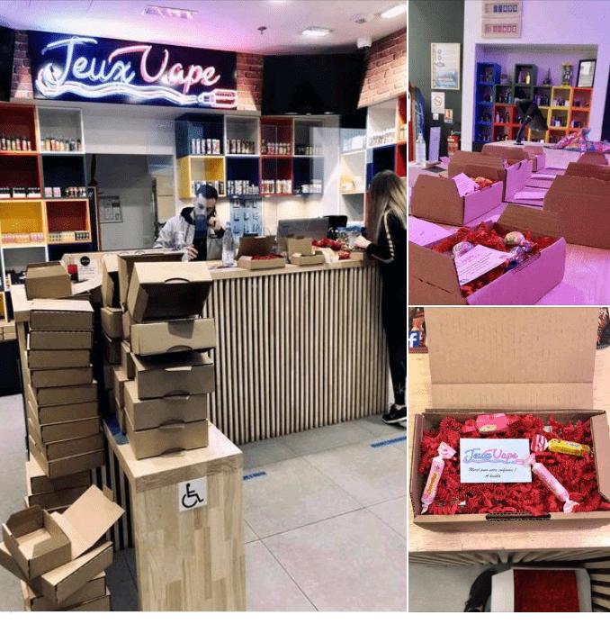 Centre commercial Pau tempo - Services - Jeux vape