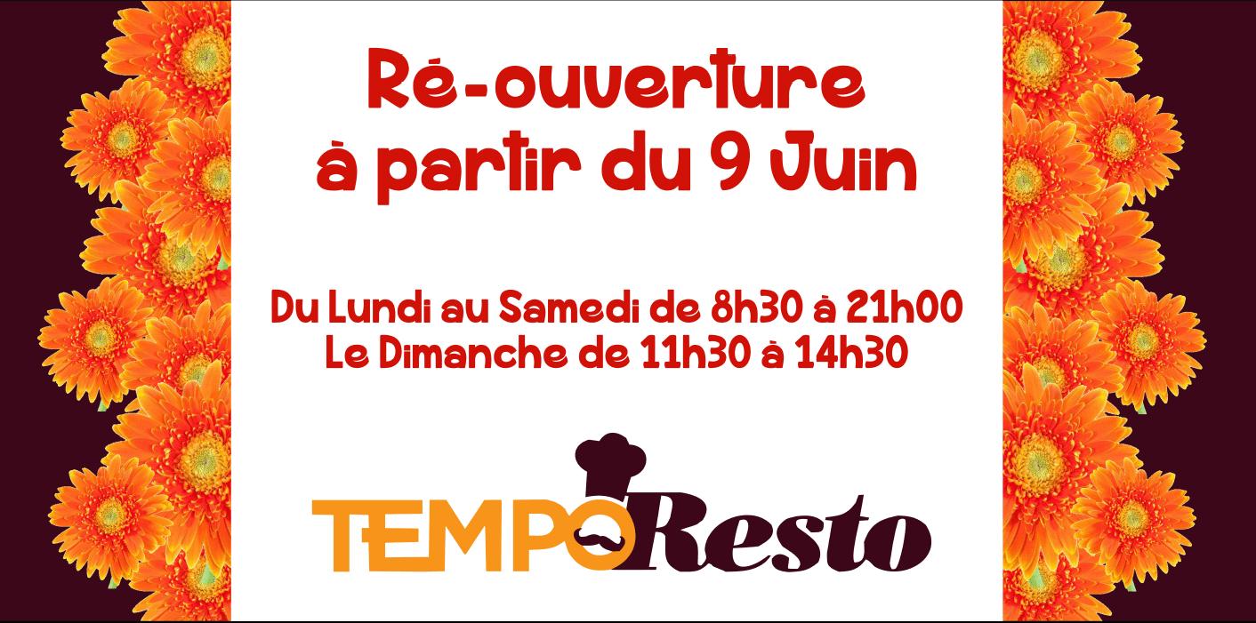 Centre commercial Pau tempo - nouveaux horaires au 9 juin